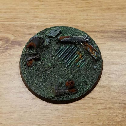 warhammer industrial ruins 60mm / 65mm base