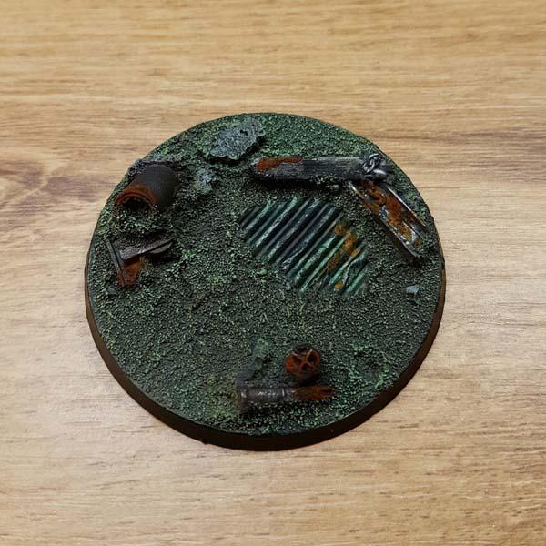 warhammer industrial ruins 60mm / 65mm base