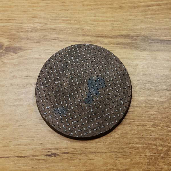 warhammer checkerplate 60mm / 65mm base