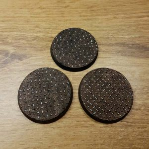 warhammer checkerplate 40mm bases