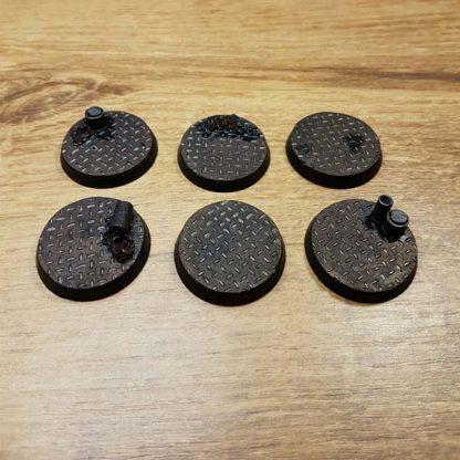 warhammer checkerplate 32mm bases