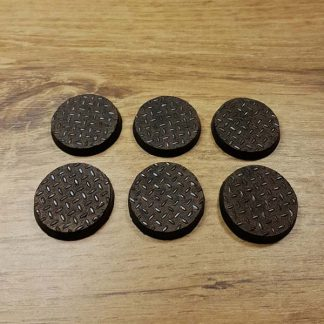 warhammer checkerplate 25mm bases