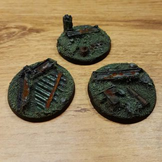 warhammer industrial ruins 40mm bases