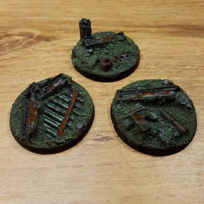 warhammer industrial ruins 40mm bases