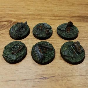 warhammer industrial ruins 25mm bases