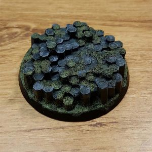 warhammer basalt rock 60mm /65mm base