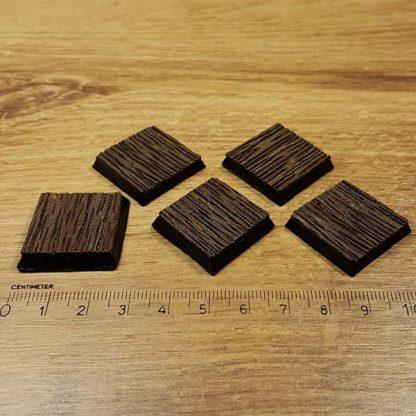 warhammer wood 25x25mm
