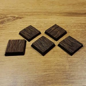 warhammer wood 25x25mm