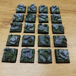 warhammer rock 20x20mm bases