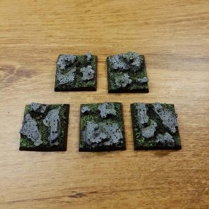 warhammer rock 25x25mm bases
