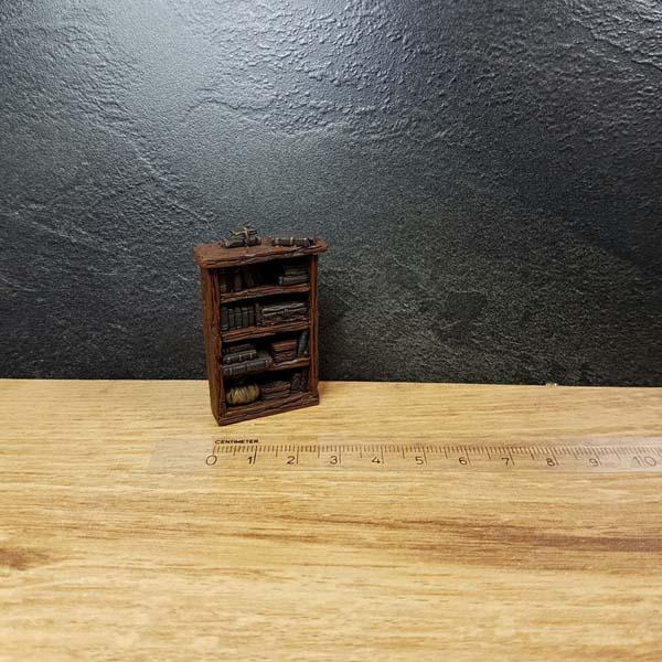 Scenery boekenkast model library bookcase / bookshelf