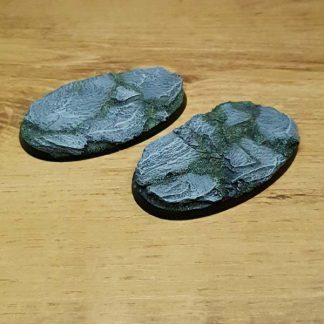Slate 75mm oval base Scenery en Zo