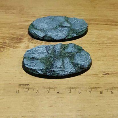 Slate 75mm oval base Scenery en Zo