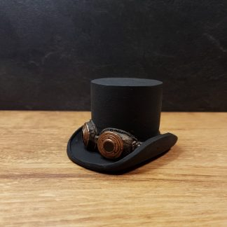steampunk top hat plinth