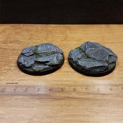 warhammer bases slate 50mm round