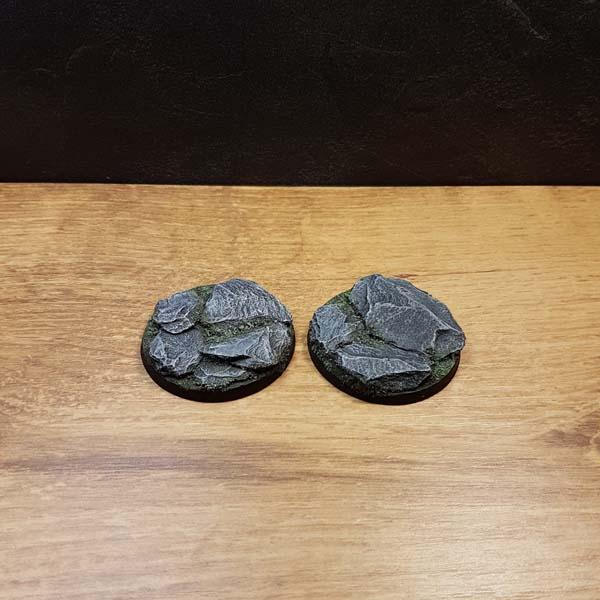 warhammer slate bases 50mm round