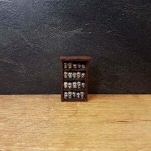cabinet of skulls miniature