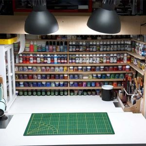 Martin's hobby space