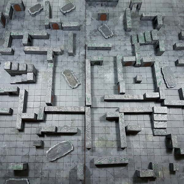 Dungeon and Dragons gametable