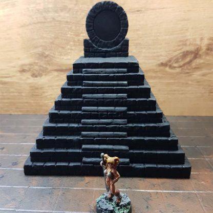 Aztec Temple Scenery en Zo
