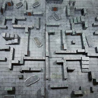 Dungeon and Dragons 3D Dungeon speelbord