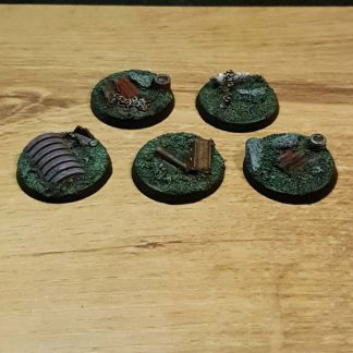 32 mm Industriele Ruine base Scenery en Zo