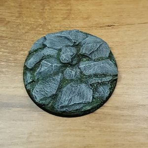 Leisteen 80 mm ronde base scenery en zo