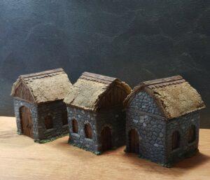 Mordheim Houses tabletop