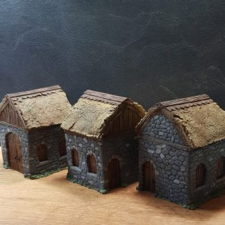 Mordheim Houses tabletop