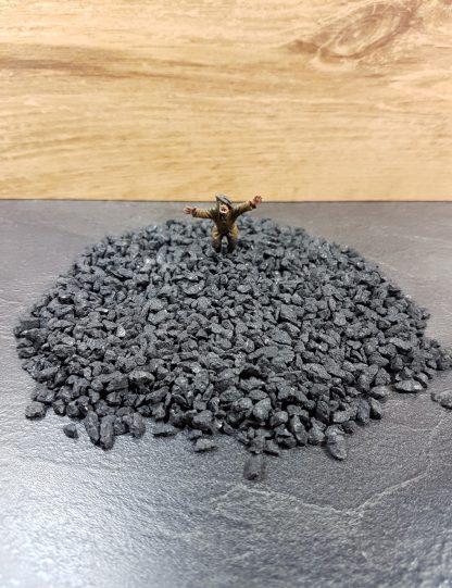 Zwart Rotsen Mat 100 gram