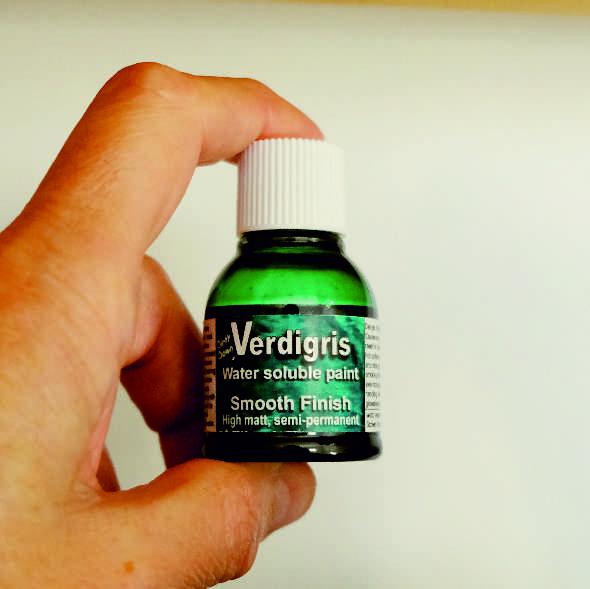 Verdigris Effect Verf Dirty Down