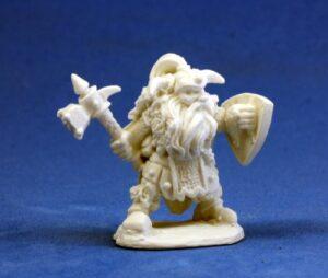 reaper miniatures 77011_ Fulumbar, Dwarf Warrior_1