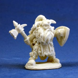 reaper miniatures 77011_ Fulumbar, Dwarf Warrior_1