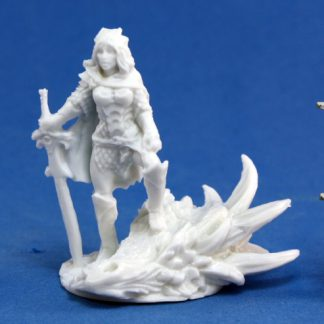 Reaper Miniatures_Janan, Female Dragon Slayer