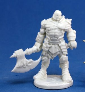 Reaper Miniatures 77055_Anval Thricedamned, Evil Warrior_1