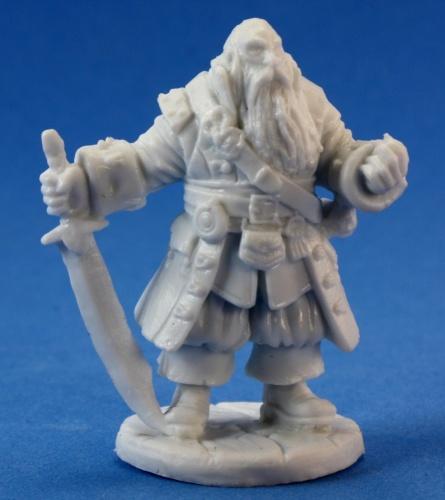 Reaper Miniatures Barnabus Frost, Pirate Captain