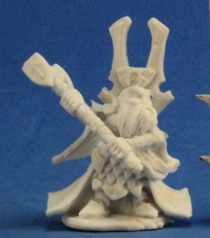 Reaper Miniatures Herryk, Dwarf Cleric