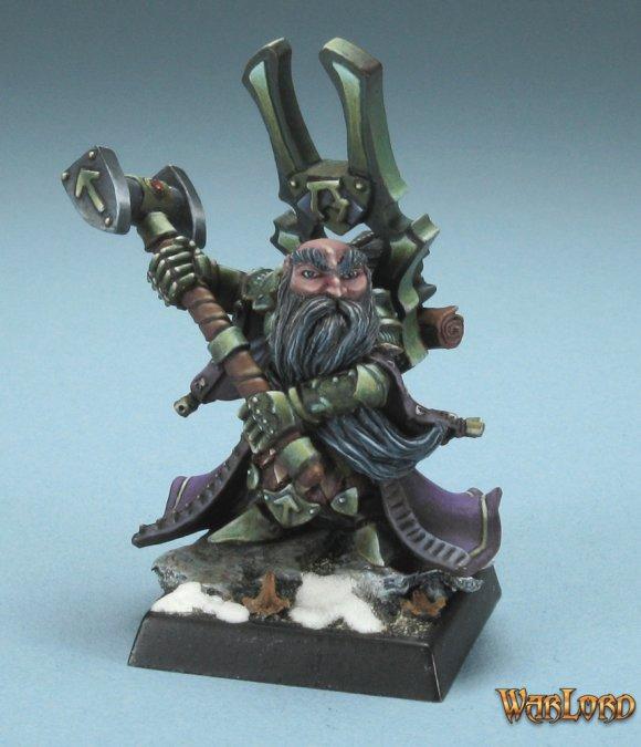 Reaper Miniatures Herryk, Dwarf Cleric 77220