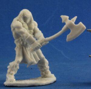 Reaper Miniatures Cuth Wolfson, Barbarian_2