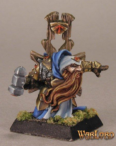 Reaper miniatures Ivar Dwarf Priest 77417