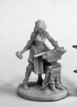 Reaper Miniatures Elven Blacksmith
