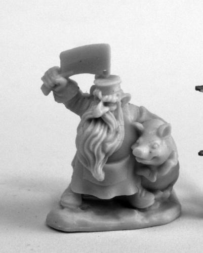 Reaper Miniatures Dwarf Butcher_1