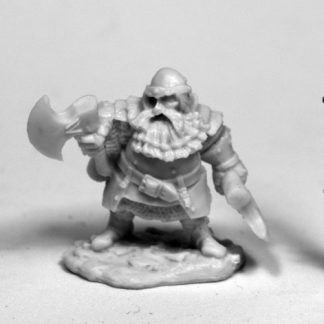 Reaper Miniatures Hagar, Dwarven Hero_1