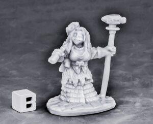 Reaper Miniatures Dwarf Forge Priestess_1