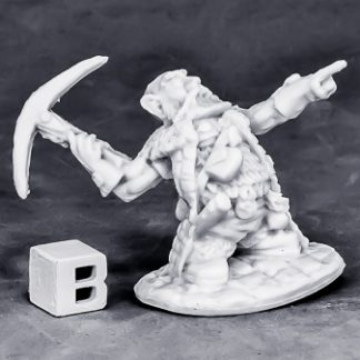 Reaper Miniatures Dwarf Master Of The Hunt