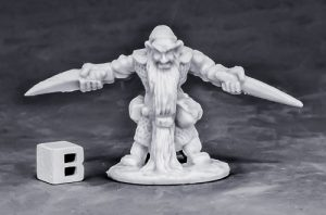 Reaper Miniatures Dwarf Royal Weapomaster_1