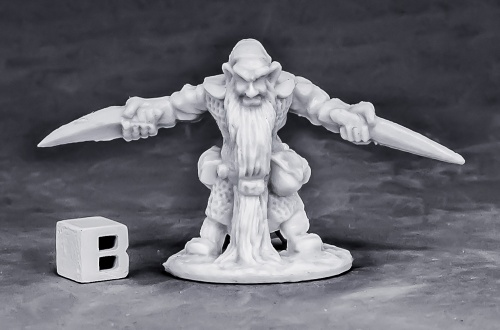 Reaper Miniatures Dwarf Royal Weapomaster_1