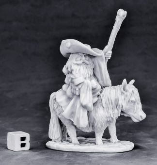 Reaper Miniatures Dwarf Mounted Battle Mage