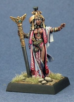 Reaper miniatures 89022_Alahazra, Iconic Oracle_painted1