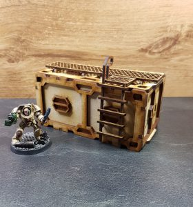 Container Large Scenery en Zo